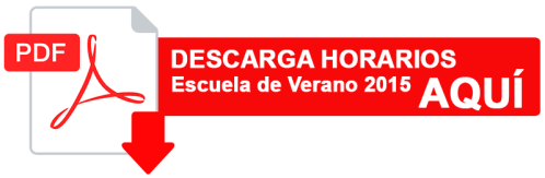 DESCARGA HORARIOS ESCUELA VERANO PDF